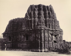 [View of Suraj Mandir, or Temple of the Sun, at Somnath (Patan).]